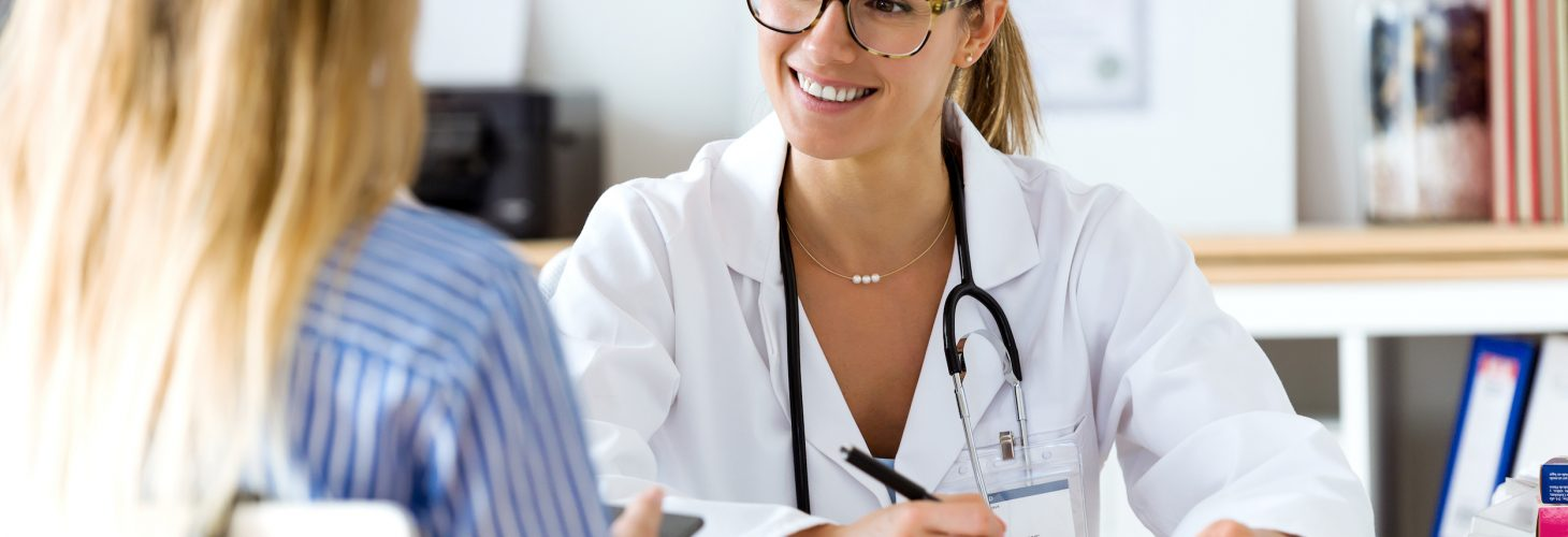 Female doctor explaining diagnosis