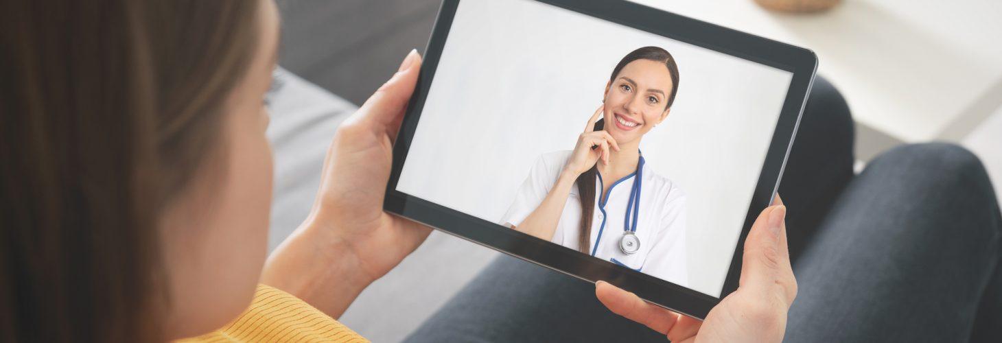 Doctor video Telehealth consult
